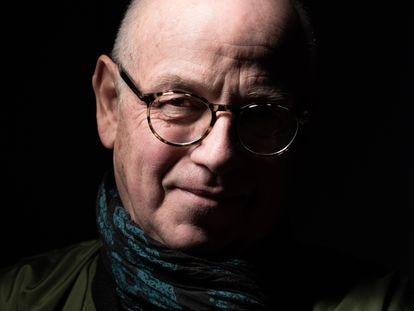 El escritor francés Stéphane Bourgoin, en una firma de libros en Estrasburgo.