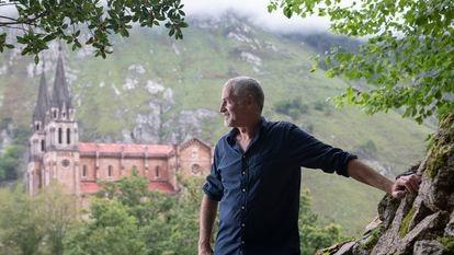 José Ángel Mañas en Covadonga.