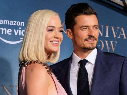 Orlando Bloom y Katy Perry en un estreno en Los Ángeles el pasado miércoles.