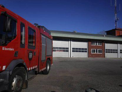 Un camión de los Bomberos de la Generalitat