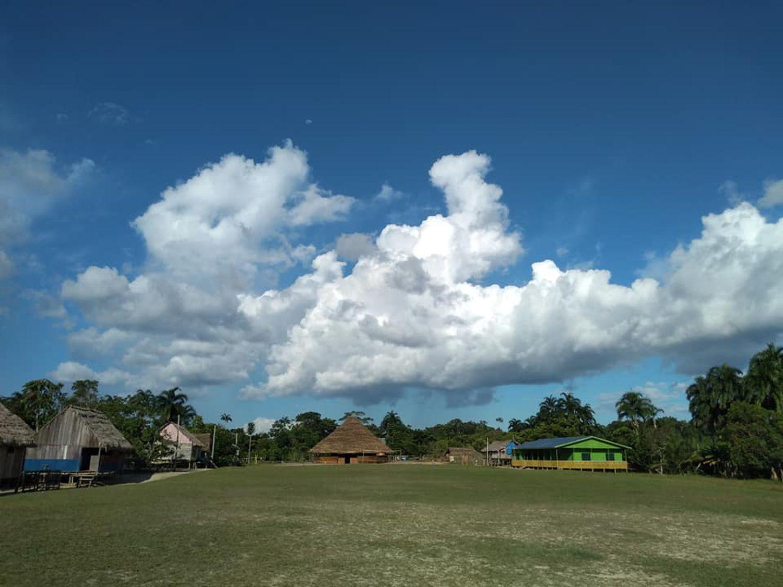 La aldea São Luís, perteneciente al pueblo kanamari, en el Valle del Javari, extremo este del amazonas brasileño.