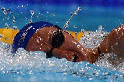 Melani, durante la final de los 400 metros libre