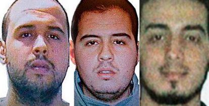 El único identificado es el kamikaze del centro, Ibrahim El Bakraoui.