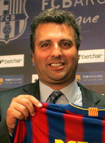 Jaume Ferrer i Graupera, vicepresidente del Barcelona.