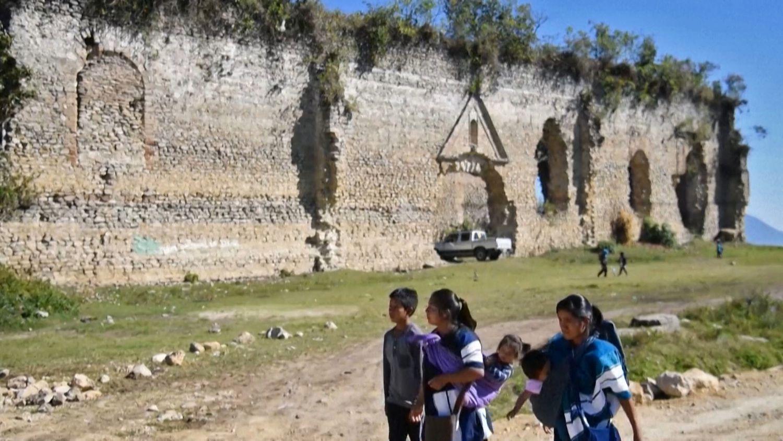 Habitantes de San Juan Cancuc, en el Estado mexicano de Chiapas, el pasado 6 de febrero.