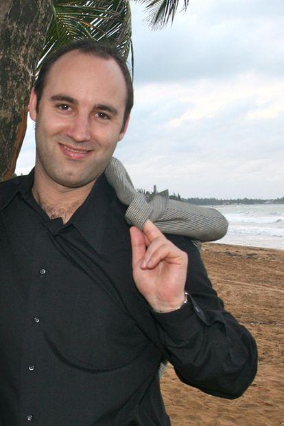Daniel Hoffer, consejero delegado de CouchSurfing.