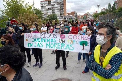 Manifestación este domingo contra la subasta de los terrenos de Las Moreras.