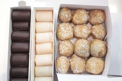 Huesos de Santo y variado de buñuelos de Moulin Chocolat