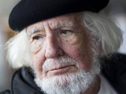 El poeta Ernesto Cardenal en 2010.