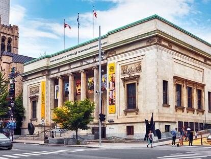 Museo de Bella Artes de Montreal.
