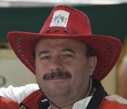 El concejal Xaquín Charlín