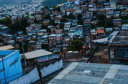 Favelas de la ciudad de Juiz de Fora, a unos 200 kilómetros de Río de Janeiro, Brasil.