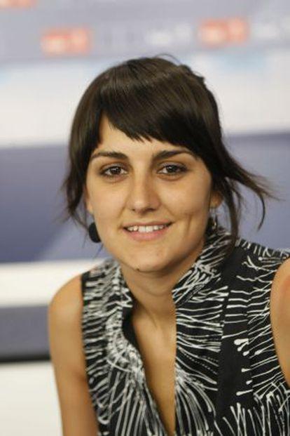 La candidata del PSOE, María González Veracruz