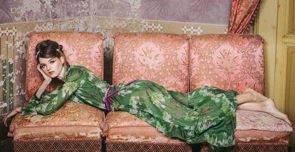 Bata de la colección Ladies in Lavender de La Costa del Algodón.