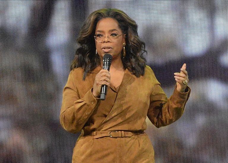 Oprah Winfrey, en febrero de 2020.
