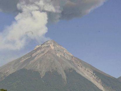 El Volcán de Fuego en una imagen de archivo.