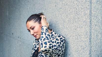 Marina Heredia, la semana pasada en Madrid.