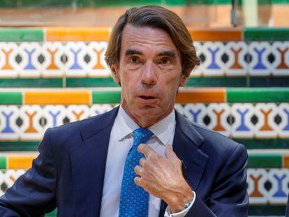 José María Aznar en Sevilla