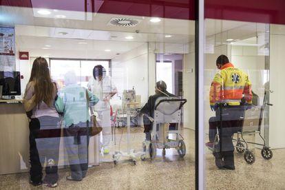 Urgencias de un hospital de Cataluña.