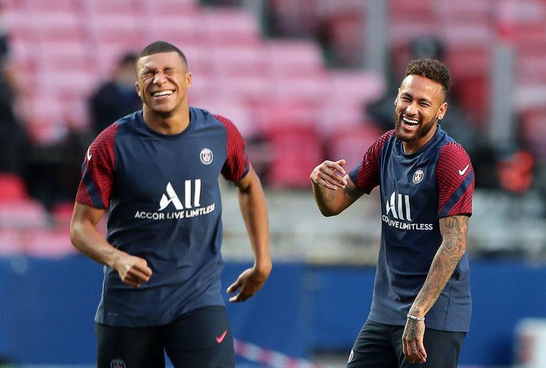 Resultado de imagen de mbappe y neymar