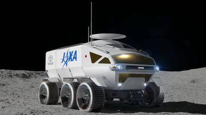 El Toyota Lunar Cruiser, un vehículo tripulado de seis metros de longitud que estará listo, presumiblemente, en 2029.