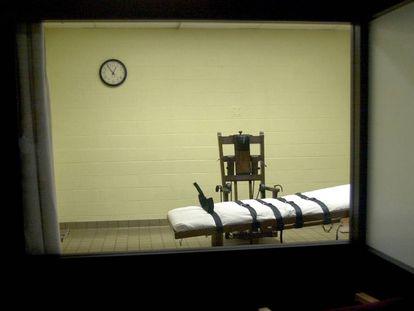 La sala de ejecuciones de la prisión de Lucasville, Ohio, en una imagen de archivo.