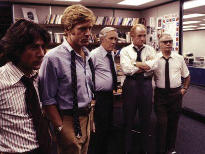 'Todos los hombres del presidente': la ropa de periodista lo es en cualquier percha.