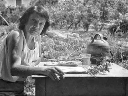 La pintora Madame Colette.