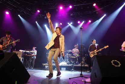Concierto del grupo !!! en la sala La Riviera en noviembre del año pasado.