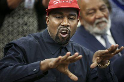 Kanye West, en un encuentro con el expresidente Donald Trump en la Casa Blanca en octubre de 2018.