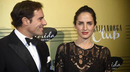 Carolina Herrera y Miguel Báez 'El Litri'.