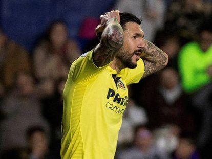 El centrocampista del Villarreal Roberto Soriano.