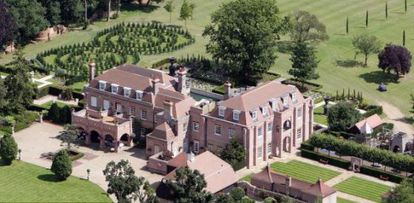 Beckingham Palace, la casa de David y Victoria Beckham.