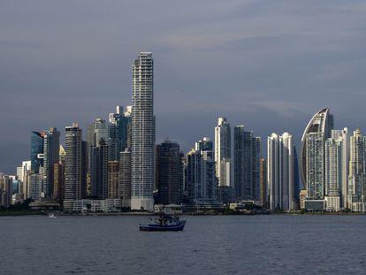 Rascacielos ciudad de Panamá.
