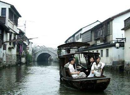 "Fotograma de ""Cry me a river"", el cortometraje de Jia Zhangke que se ha presentado en Venecia."