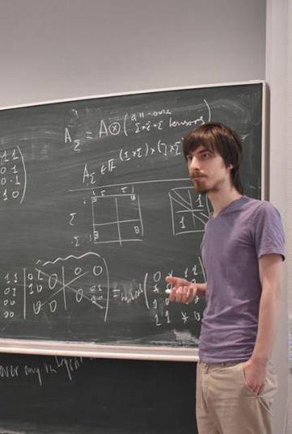 Yaroslav Shitov, en una imagen del pasado agosto publicada por el National Research University Higher School of Economics en Facebook.