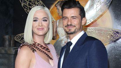 Orlando Bloom y Katy Perry en el estreno de 'Carnival Row', en Los Ángeles (California, EE UU), el pasado agosto.