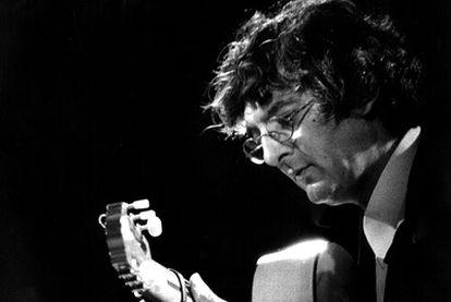 El guitarrista jerezano Manuel Moreno Junquera, <i>Moraíto Chico.</i>