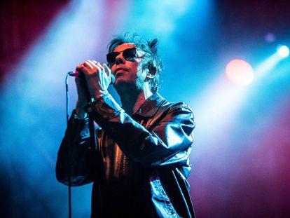 Ian McCulloch, en un concierto el pasado mes de agosto en Turín (Italia).