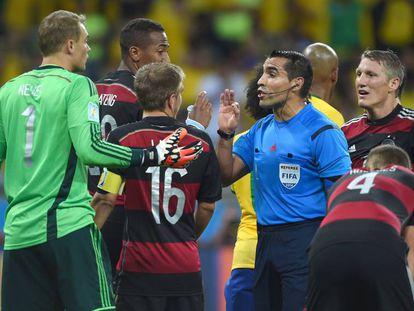 Marco Antonio Rodríguez, en el histórico 1-7 de Alemania a Brasil