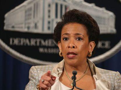 La fiscal general Loretta Lynch anuncia la investigación federal en Baltimore