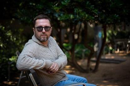 El periodista y activista Anatolii Sharii, fotografiado en Barcelona. / Joan Sánchez.