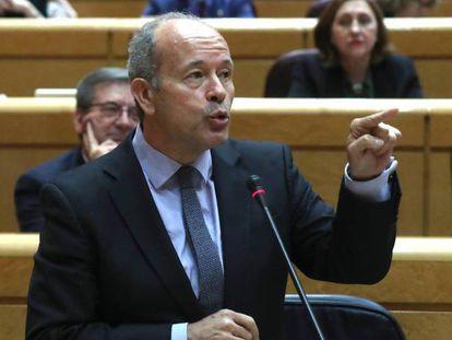 El ministro de Justicia, Juan Carlos Campo. En vídeo, sus declaraciones durante su primera comparecencia en el Congreso de los Diputados.