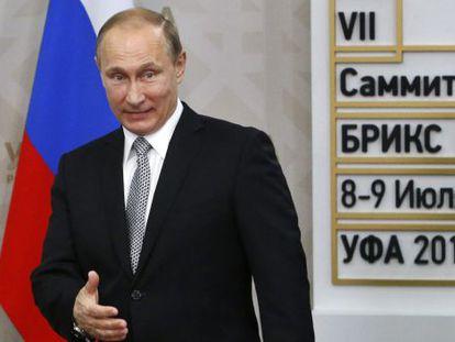 El presidente ruso, Vladímir Putin, en una foto de archivo.