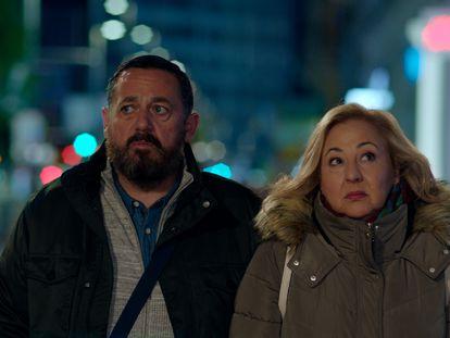 Pepón Nieto y Carmen Machi, en 'Un efecto óptico'.
