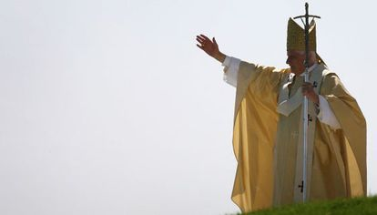 Benedicto XVI, en septiembre de 2006, en Regensburg.