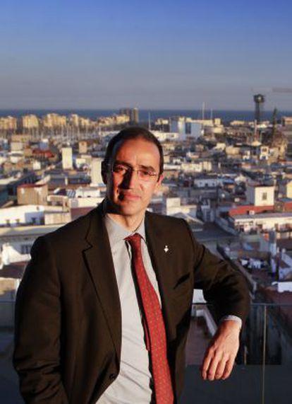El tinent d'alcalde de l'Ajuntament de Barcelona Antoni Vives.