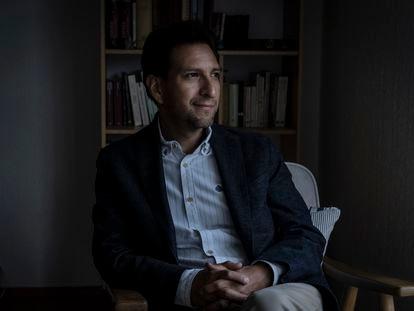 El historiador Martín Rios Saloma en entrevista para EL PAÍS, en la Ciudad de México, el 11 de agosto de 2021.