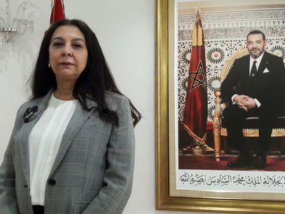 La embajadora de Marruecos en España, Karima Benyaich, en una imagen de archivo.