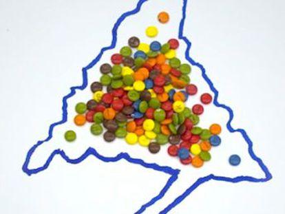 ¿Sabes cómo funciona la ley electoral en España? Te lo explicamos como nunca te lo han contado  con caramelos de chocolate
